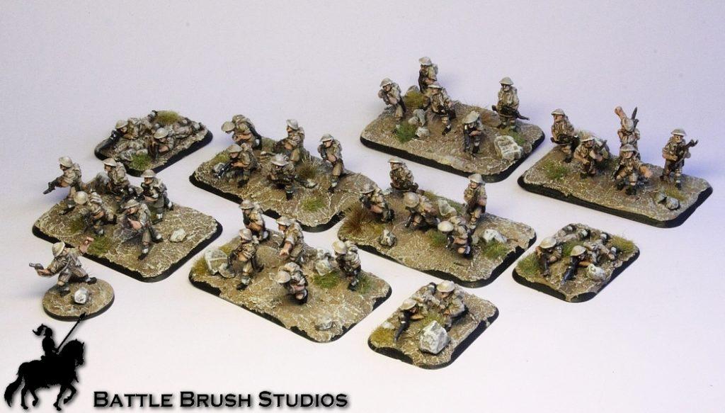 Chain of Command skirmish WW2