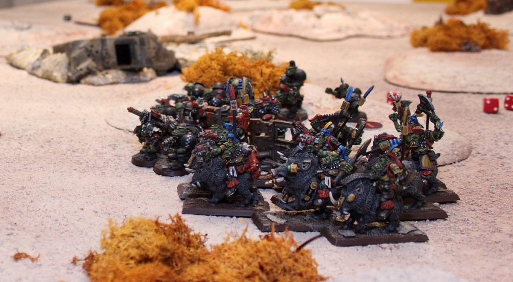 chain of command skirmish warhammer 40,000