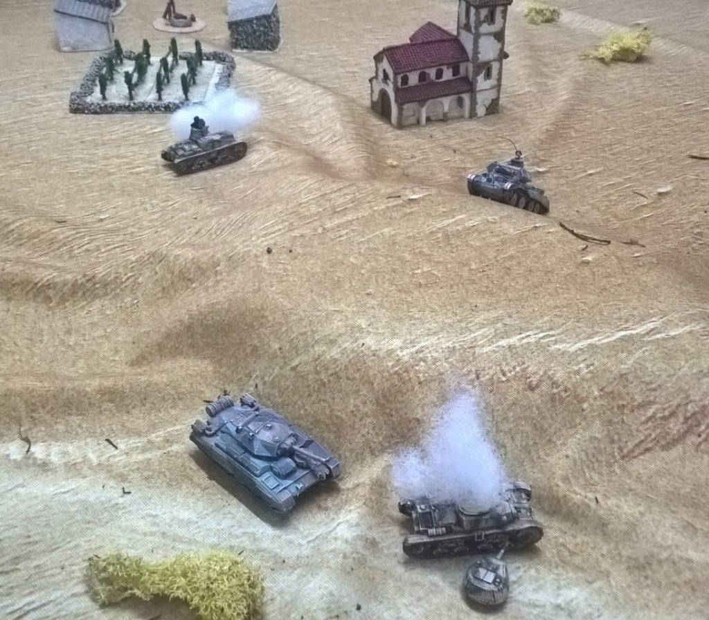 What a tanker ww2 skirmish