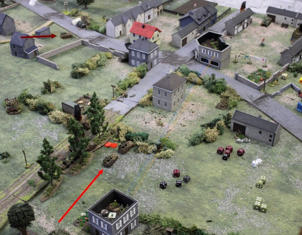 ww2 chain of command skirmish