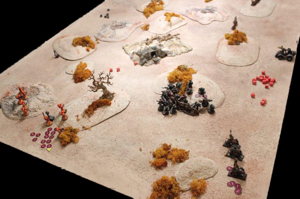 chain of command skirmish warhammer 40,000