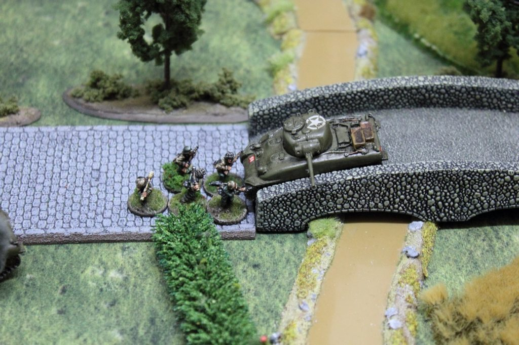 chain of  command ww2 skirmish