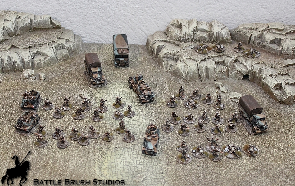 Chain of Command skirmish WW2