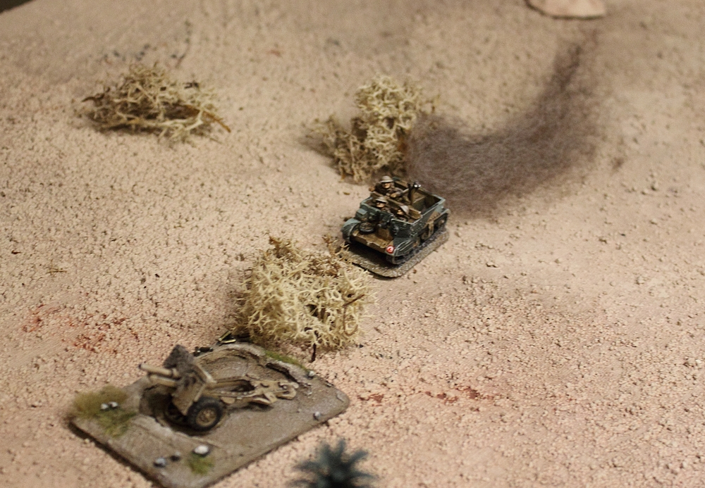 chain of command skirmish