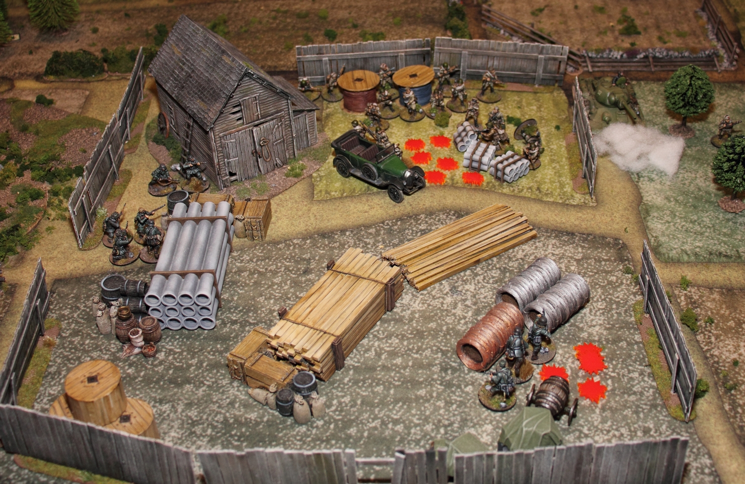 chain of command skirmish