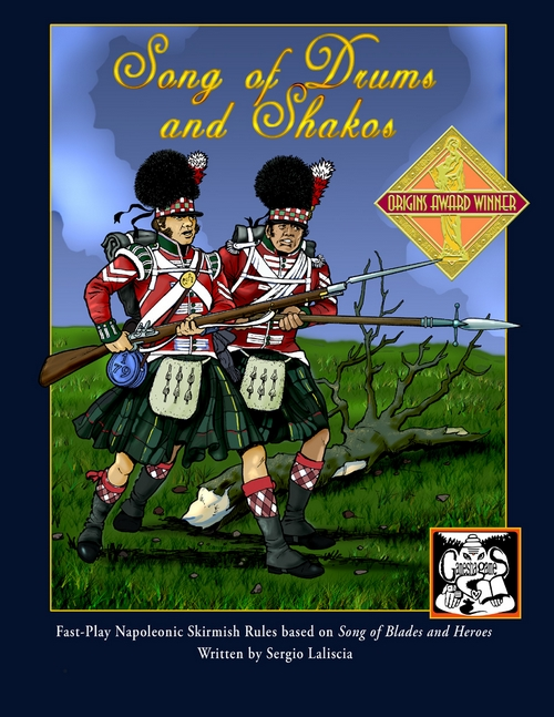 song of drums and shakos wargame